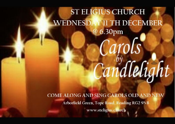 Carols by candlelight Dec 19